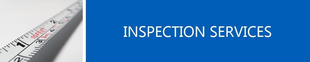 Image of tape measure titled Inspections