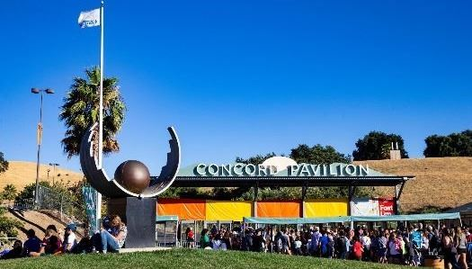 Entrance to Concord Pavilion