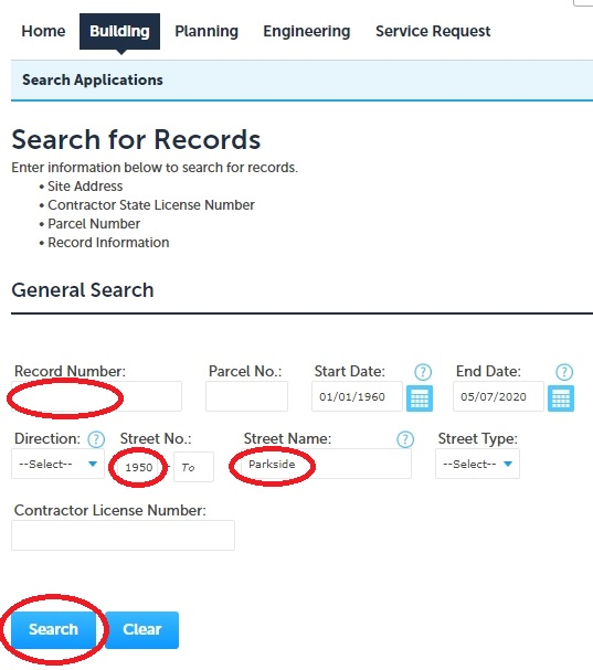 Image of Records Search