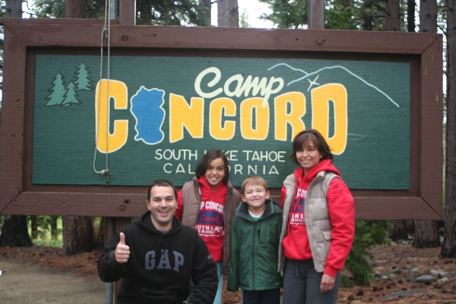Camp Concord Sign